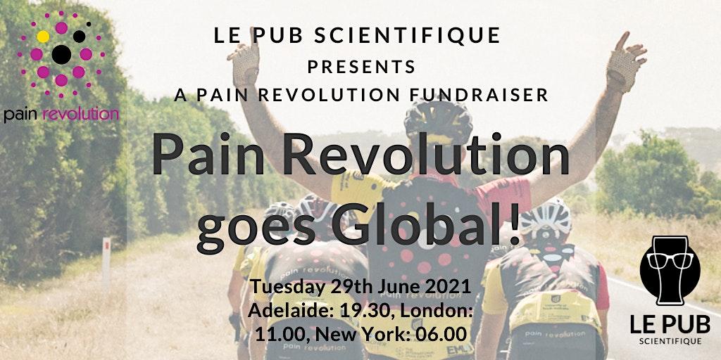 Pain Revolution goes global!