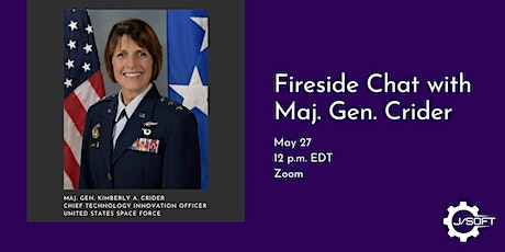 Fireside Chat with Maj. Gen. Crider tickets
