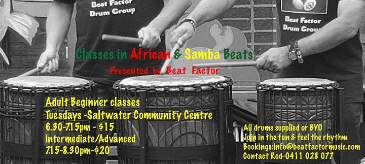 African & Samba Beats Classes image