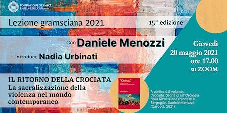 Lezione Gramsciana 2021 con Daniele Menozzi biglietti