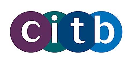 Introduction to CITB -  Cyflwyniad i CITB tickets