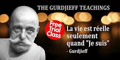 L'enseignement de Gurdjieff  - COURS GRATUIT d'introduction billets