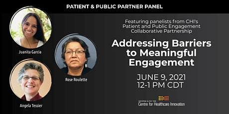 PE Lunchtime Learning Panel: Addressing Barriers to Meaningful Engagement tickets