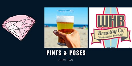 Pints & Poses July 2021 at Westhampton Beach Brewing tickets