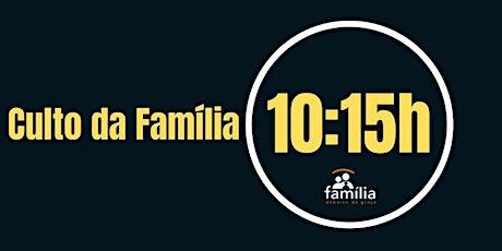 Culto  Infantil - 6 a 9 anos -10:15h ingressos