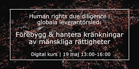 HRDD: Förebygg & hantera kränkingar av mänskliga rättigheter tickets