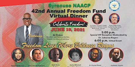 Syracuse NAACP 42nd Annual Freedom Fund Dinner tickets