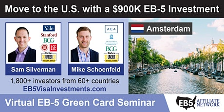 U.S. Green Card Virtual Seminar – Amsterdam, Netherlands tickets