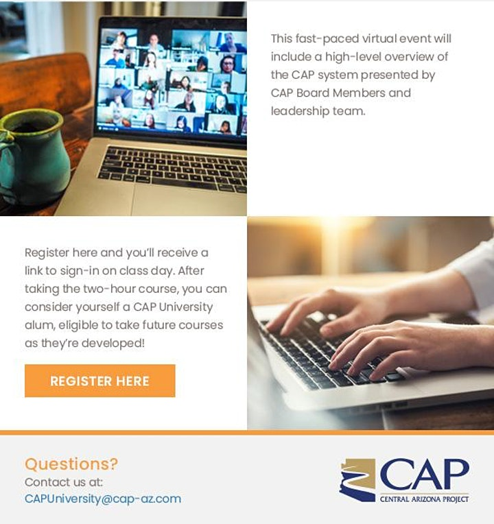 CAP University - Introduction to Central Arizona Project image