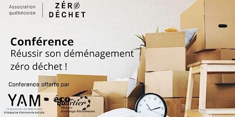 Conférence  gratuite « Réussir son déménagement » ! billets
