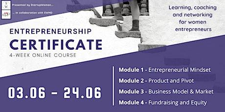 INFO SESSION: Certificate Program in Entrepreneurship Tickets
