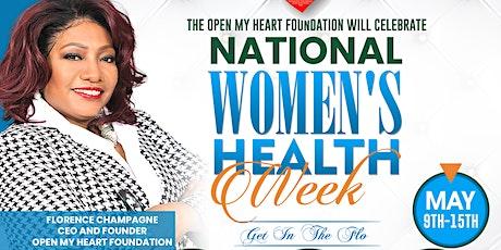 Get In the Flo: National Women's Health Week tickets