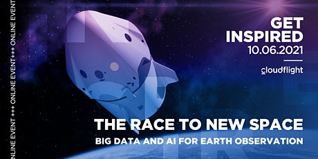 The Race to NewSpace. Big Data and AI for Earth Observation tickets