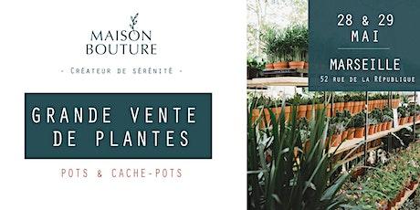 MARSEILLE // LE JARDIN ÉPHÉMÈRE DE MAISON BOUTURE - VENTE DE PLANTES billets