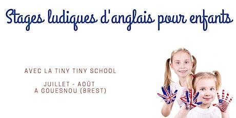 Stage ludique d'anglais pour enfants de 3 à 10 ans - juillet 2021 billets