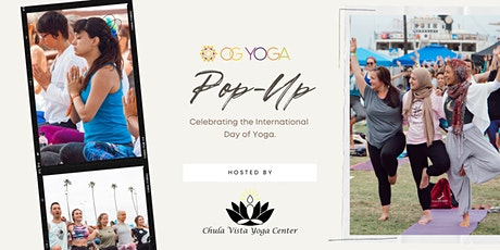 International Day of Yoga Pop-Up: Hosted by Chula Vista Yoga Center tickets