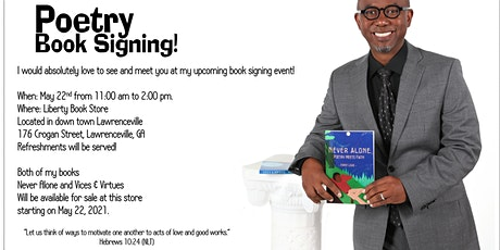 Poetry Book Signing tickets