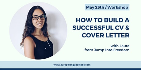 """How to build a successful CV & Cover letter"" with Jump Into Freedom tickets"