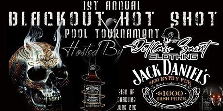 1st Annual Blackout Hotshot Pool Tournament tickets