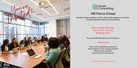 HR Focus Group -  Onboarding tickets
