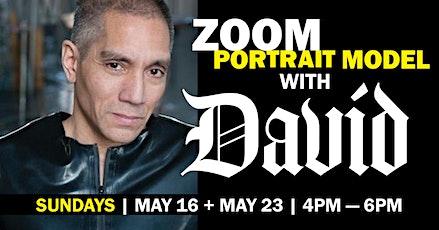 Portrait Model ZOOM with David MODELLO (Long Pose) tickets