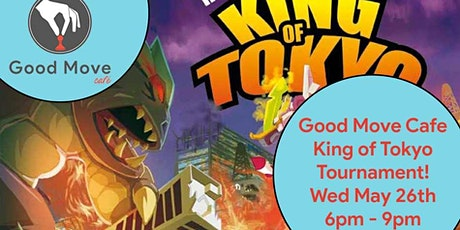 King of Tokyo Tournament May 26th! tickets