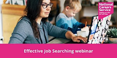Effective Job Searching Webinar tickets