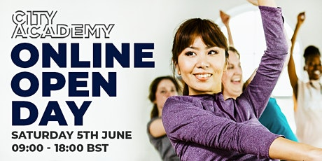FREE Online Open Day | City Academy biglietti