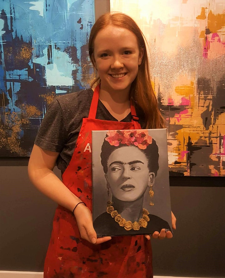 Portrait Painting (13+) Art Intensives for Teens image