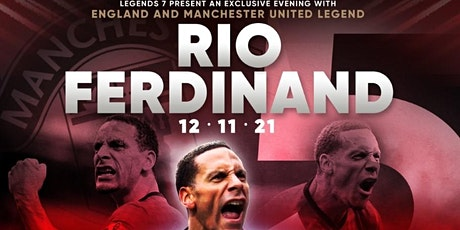 Exclusive Evening with Manchester United Legend Rio Ferdinand tickets