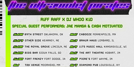 RiFF RAFF X DJ WHOO KiD @ Fort Frenzy (Fort Dodge, IA) - May 30th tickets