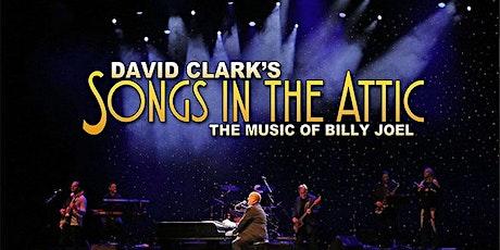 David Clark performs Music of Billy Joel LIVESTREAMING tickets