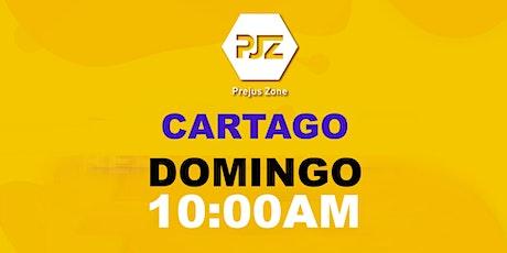 Prejus Cartago. Experiencia de Fe  10:00am tickets
