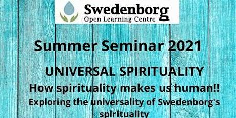 SWEDENBORG OPEN LEARNING CENTRE - SUMMER SEMINAR 2021 tickets