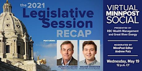 MinnPost Social: 2021 Legislative Session Recap tickets
