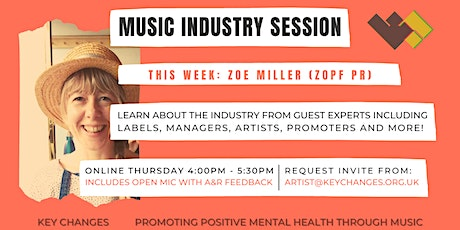 KEY CHANGES MUSIC INDUSTRY AWARENESS SESSION tickets