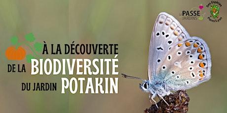 Réflexion pour mieux accueillir la biodiversité au Jardin Potakin billets