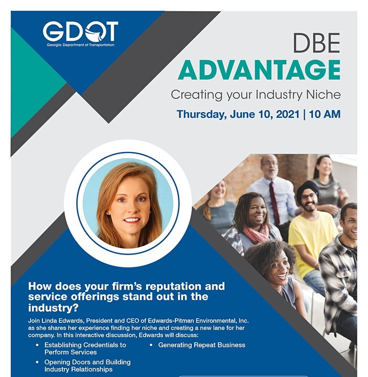 DBE Advantage - Creating Your Industry Niche image