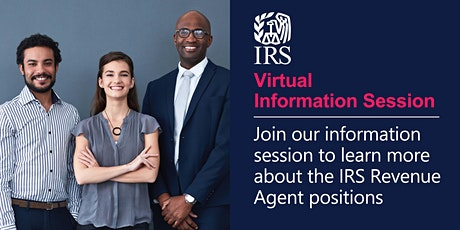 IRS Virtual Information Session on Revenue Agent Positions tickets