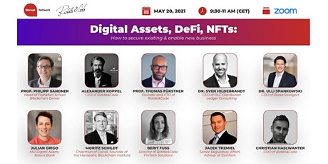 Digital Assets, DeFi, NFTs:  How to secure existing & enable new business tickets