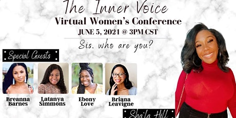 """""""The Inner Voice"""" Virtual Women's Conference tickets"""