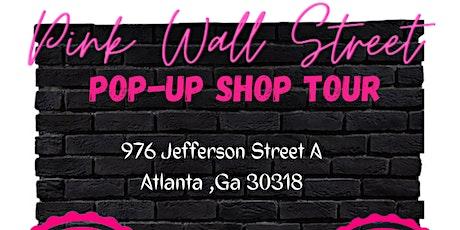 Pink Wall Street tickets