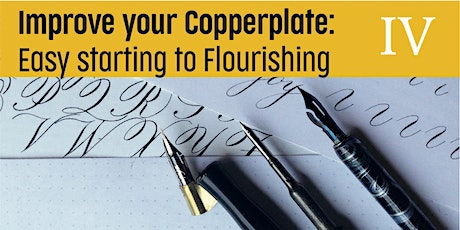 Improving your Copperplate - Easy starting on Flourishing tickets