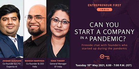 Breaking Barriers: Can You Start A Company In A Pandemic? tickets