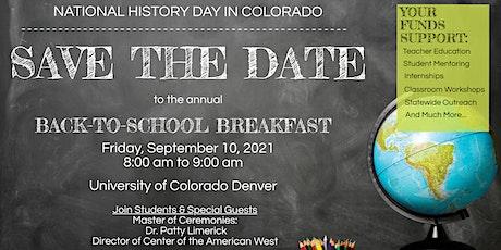 2021 Back-to-School Showcase Breakfast tickets
