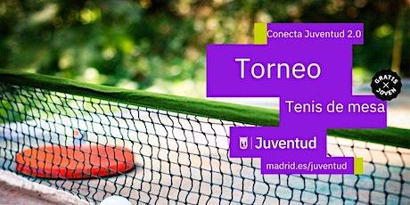 TORNEO TENIS DE MESA entradas