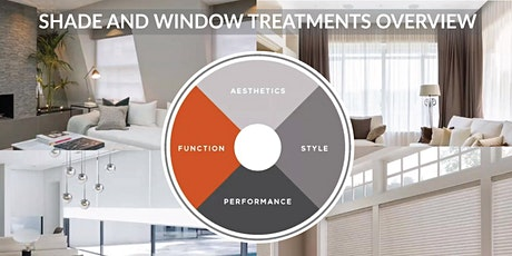 CEU Webinar  Shade and Window Treatments - Motorize, Automate & Integrate tickets