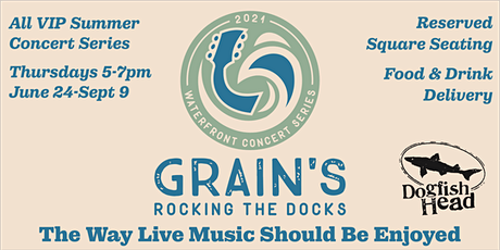 Rocking The Docks - Little Stranger with Dry Reef tickets