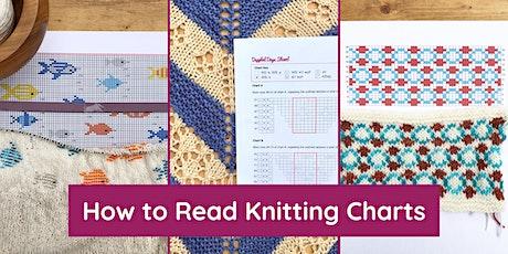 Reading Knitting Charts tickets