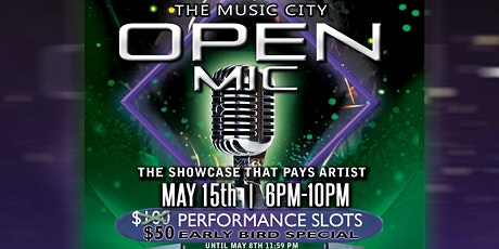 The Music City Open Mic tickets